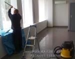 Послестроительная уборка и мойка окон