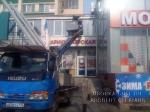 Демонтаж и монтаж рекламы, мытье окон и фасада здания